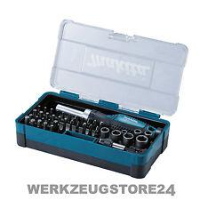 Makita B-36170 Ratschen + Bit-Set 47-tlg. Bitsatz für Akkuschrauber