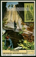 Caves Caving Spelology Spelunker Stalagmite Stalactite 6 50+ Y/O Trade Ad Cards