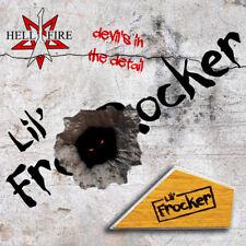 Hellfire 'Lil frocker' traste Rocker Guitar Luthier Herramienta