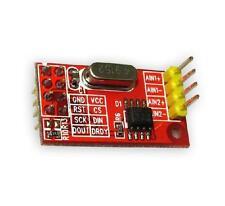 1PCS AD7705 Dual 16-bit ADC Data Acquisition Module SPI Precise TM7705 NEW