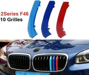 BizTech® Clip In Grill inserts For BMW 2 Series GT F46,  AT F45  M Power Sport