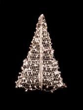 2' Green Crab Pot Christmas Tree Pre-Lit White Lights Nc Coast Seashore Dock