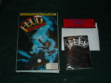 "Feud (Commodore) 5 1/4"" Floppy Complete W/ Box & Book"