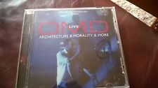 OMD LIVE CD-ARCHITECTURE&MORALITY&MORE-2008-ENOLA GAY/JOAN OF ARC/ELECTRICITY EC