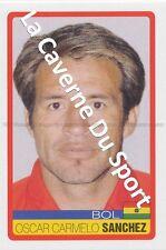 N°040 OSCAR CARMELO SANCHEZ # BOLIVIA STICKER PANINI COPA AMERICA VENEZUELA 2007