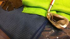 1 NEW GOLF  TOWEL SPORTS BOWLING FITNESS WAFFLE WEAVE MICROFIBER 13X28 SILKY