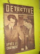 Détective 1951 SAINT POL TERNOISE VILLERS LE BRETONNEUX