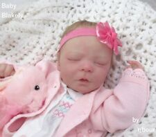 rjbour Joe Bourland BABY Blakely REBORN Newborn Realborn Darren Sleeping