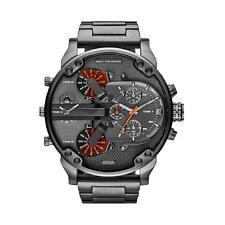 New Fashion Men's Date Stainless Steel Military Quartz Watch Montre Bracelet