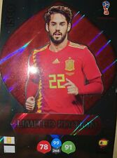 Isco Limitada Limited Edition Adrenalyn XL Fifa WC Russia 2018 18 Rare Spain