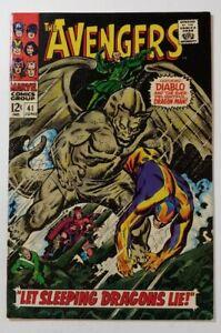 Avengers #41 FN 6.0 (June 1967) Dragon Man, Diablo, Wanda, Quicksilver, Hawkeye!