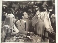Hedy Lamarr & Robert Taylor double weight 8x10 Photo 1939 Lady of The Tropics