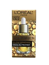 Loreal Age Perfect Glow Renewal Facial Oil Treatment 0.5 Fl Oz Trial Size