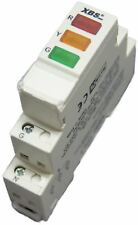 3-fach LED Leuchtmelder 230 V für Hutschiene TPI-1 3 Phasenkontrolle