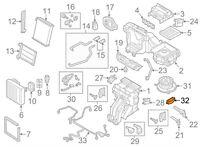 Audi A3 8V Heater Blower Resistor 5Q0907521C  GENUINE NEW