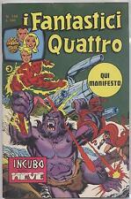 I FANTASTICI QUATTRO - NR. 144 - 12 OTTOBRE 1976 -ANNO VI - INCUBO SULLA NEVE