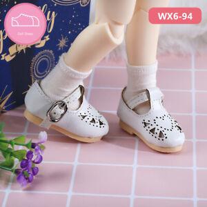 New White Shoes sandals shoes For 1/6 BJD Doll SD YOSD Napi vanilla SOOM Body