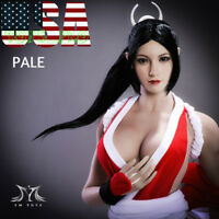 1/6 King of Fighters Mai Shiranui Head Sculpt PALE For PHICEN Female Figure❶USA❶