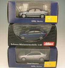 SCHUCO Sammlung - 3x OPEL VECTRA - C - GTS - 1:43 - NEU in OVP - Modellauto