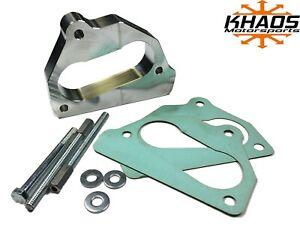 "Khaos Motorsports 2"" Open Bore Throttle Body Spacer 87-95 Chevy 5.7L 5.0L 4.3L"