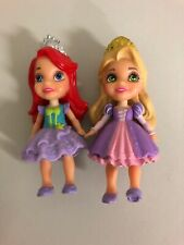 Disney Princess Mini Dolls  Ariel And Rapunzel.