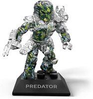 Mega Construx Black Series Clear Transparent Predator Mini Figure 19 Pcs GPH83