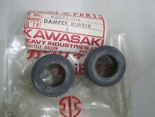 KAWASAKI NOS TAIL PIECE DAMPER RUBBERS (2) 92075-104 G5 F11 KE100 ZN1100  454LTD