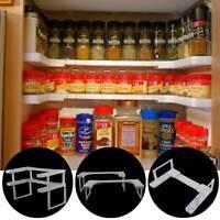 2 Tier Spice Jar Rack Shelf Stand Kitchen Storage Shelf Organizer Foldable