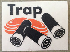 Trap, Skeet-Clay and Shells 2 color Window Graphics