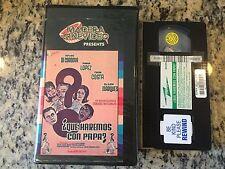 QUE HAREMOS CON PAPA RARE BIG BOX VHS NOT ON DVD 1966 SPANISH COMEDY CESAR COSTA