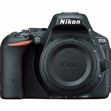 Sale Nikon D5500 DSLR Camera Body Black - 4 Image Processor Black Friday Deals