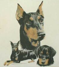 Doberman Pinscher Ash,Pink,blue,Sand,or Yellow Hoodie New! Your Size!