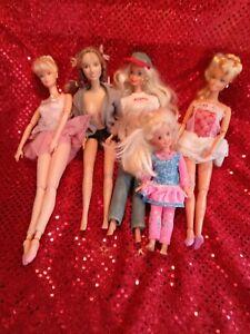 Barbie Doll Lot...ballerina...Brittany Spears...arizona Jeans...lot