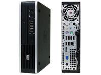 MINI PC HP 8200 USDT Quad Core i3 i5 Windows 10 Office Desktop Computer 1TB 8GB