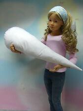 Kissen für eine 70 cm oder 80 cm Schultüte Weiß Füllkissen Inlett Handmade