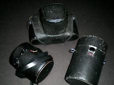 Honeywell Pentax Black Body Spotmatic with 55mm, 28mm, 100mm Macro lens