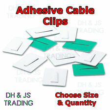 Steel Self Adhesive Cable Clips Adhesive Backing Plate For Wire Cable All Sizes