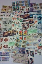 UN-USED 100 of 13 ¢ USPS Postage Stamps, Multiples & Singles Face Value = $13.00