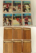 1975-76 O-Pee-Chee 1-396 complete set OPC minus few cards