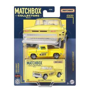 Matchbox Collectors 1963 Chevy C/10 Pickup Blisterkarte unbespielt NEU OVP