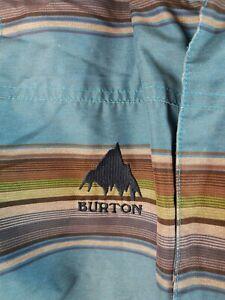 Vintage BURTON DRYRIDE Boy's Size L 14/16 Snowboard Jacket Ski Coat Hooded