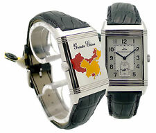 "Jaeger LeCoultre ""Greater China"" Reverso GRAND PUNTO VITA acciaio mano ascensore Limited"