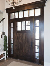 Craftsman Entry Door Unit with Sidelites & Transom