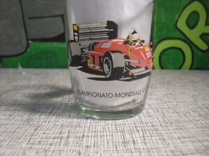 1985 Campionato Mondiale F1 World Championship Italian Ferrari Racing Car Glass