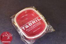BENTO BOX LUNCH BOX BOITE REPAS MADE IN JAPAN GLIT & BRILLIA ROUGE COLISSIMO