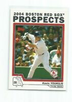 KEVIN YOUKILIS (Boston Red Sox) 2004 TOPPS TRADED ROOKIE PROSPECTS CARD #T100