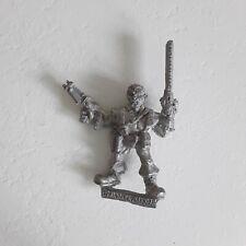 TALISMAN TIMESCAPE Chainsaw Warrior Warhammer GW 40k Rogue Trader 1980's metal