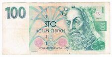 100 KORUN CZECH REPUBLIC 1993
