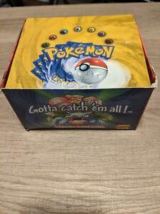 Base Set Pokemon Booster Box Empty