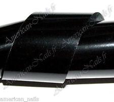 Rouleau Foils Nail Art Foil déco d'ongles Noir 150 cm